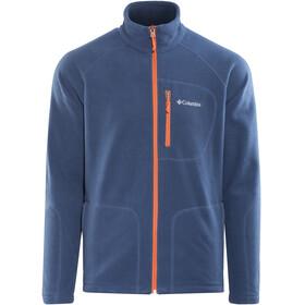 Columbia M's Fast Trek II Full Zip Fleece Jacket carbon/heatwave